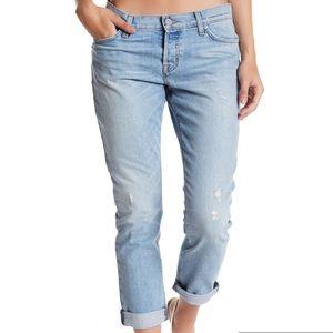 Hudson Riley Crop Jeans